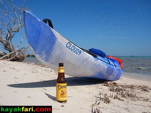 Flex Maslan Everglades kayakfari ranger led pour beer kayak Bahia Honda Light dive keys paddle coral photography