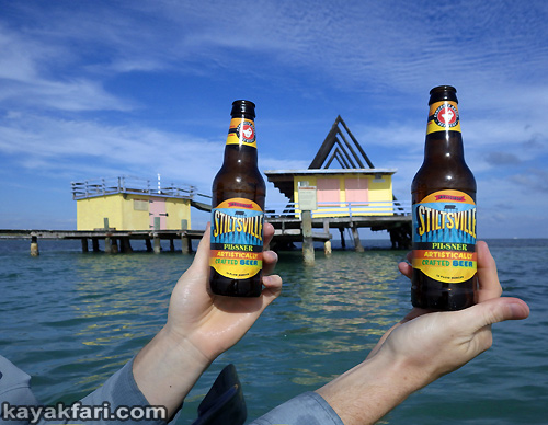 Flex Maslan Everglades kayakfari ranger led pour beer kayak stiltsville paddle photography tour humor florida bay miami