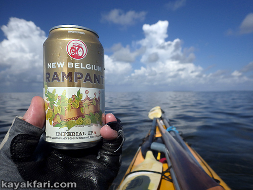 Flex Maslan Everglades kayakfari ranger led pour beer kayak rampant paddle photography tour humor florida bay sea sun