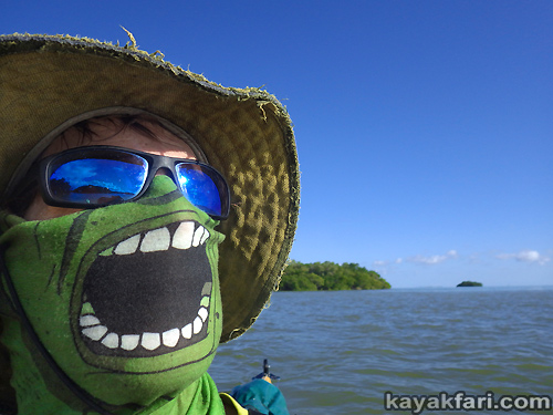Flex Maslan Everglades kayakfari ranger led pour beer kayak grass paddle photography tour humor florida bay grin