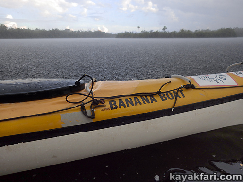 Flex Maslan kayakfari Seda Glider kayak tech hatch enlarge storage lid upgrade bigger oval open access banana boat Miami camp