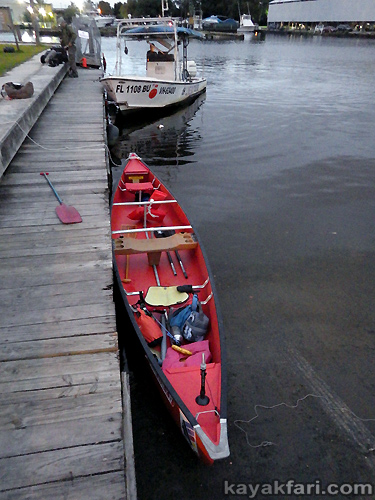 Flex Maslan Miami River night kayakfari canoe shipyard history ARTE TV Katja Esson documentary everglades canal eerie spooky coleman 17 canoe