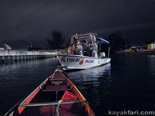 Flex Maslan Miami River night kayakfari canoe shipyard history ARTE TV Katja Esson documentary everglades canal eerie spooky
