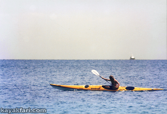 Flex Maslan kayakfari Banana Boat kayak photography everglades adventure Seda Glider camp tour Florida Bay 1000mm lens 1992