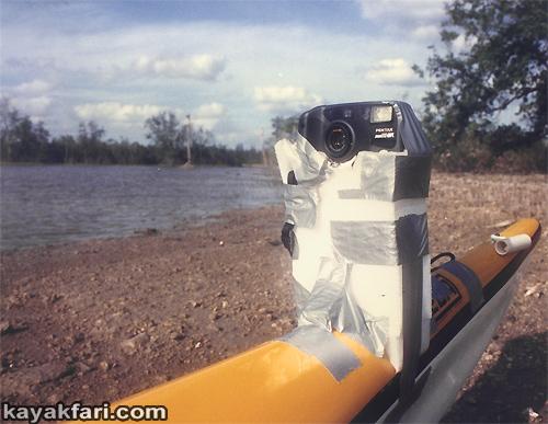 Flex Maslan kayakfari Banana Boat kayak photography everglades adventure Seda Glider camp tour Florida Bay 1000mm lens selfie cam 1992