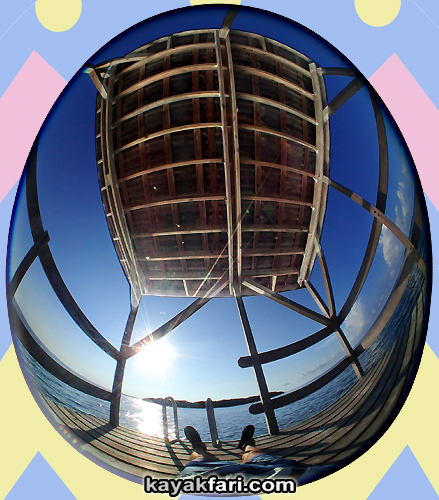 Flex Maslan easter egg decoration everglades kayakfari circular fisheye photography kayak camp panorama 360 art 180 florida awakenthegrass johnson chickee