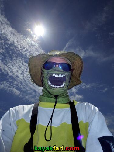 Flex Maslan kayakfari cuban cigar everglades smoke kayak rasta camp adventure 420 sun moon nest keys florida bay buff vapor