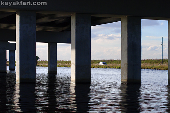 Flex Maslan Shark River Slough Everglades photography skyway bridge kayak River Grass kayakfari environment paddle water sfwmd restoration tamiami trail art