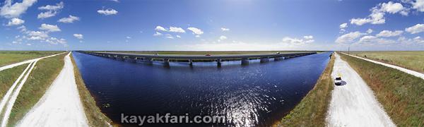 Flex Maslan Shark River Slough Everglades photography skyway bridge kayak River Grass kayakfari environment paddle water sfwmd restoration tamiami trail aerial
