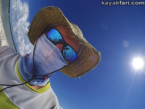 Flex Maslan Kayakfari Fisheye Photography Everlades kayak Florida Bay paddle ten thousand islands sun