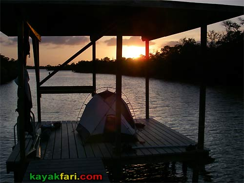 Flex Maslan kayakfari Crooked Creek chickee paddle everglades kayak camping ten thousand islands camp night photography aerial
