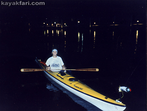 Flex Maslan kayakfari kayak Adventure ft lauderdale florida squeeze danceteria night club party canoe new river paddle edge 1995