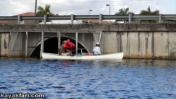 Flex Maslan kayakfari Miami river trash Biscayne garbage Everglades kayak litter dumping pollution environment water quality river balloon