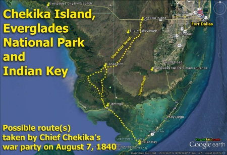 Flex Maslan kayakfari photographer Chekika island kayak canoe everglades tree hammock satellite Harney 1840 Indian Key