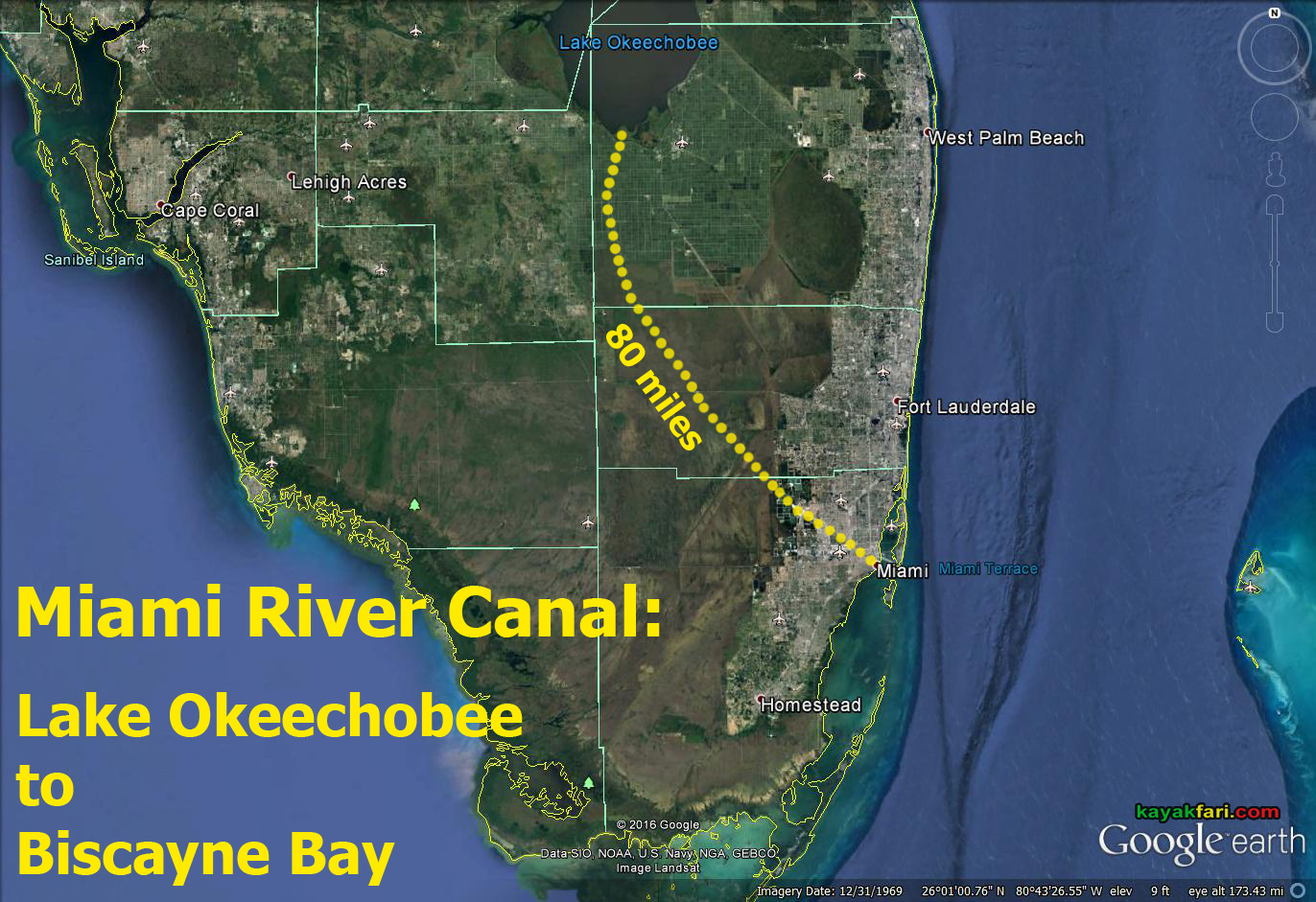 Paddling the Miami River Canal Part I Engineered Freshwater