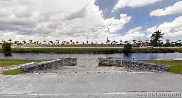 Flex Maslan kayak Miami river kayakfari paddle Biscayne medley south florida photography scenic history shipyard urban google earth