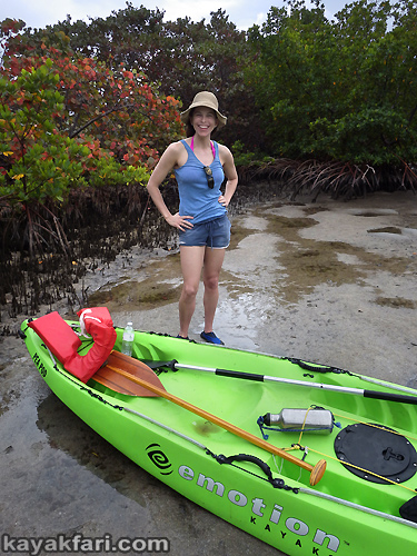 Flex Maslan kayak Whiskey Creek John Lloyd kayakfari snorkel beach florida Mizell-Johnson park paddle urban