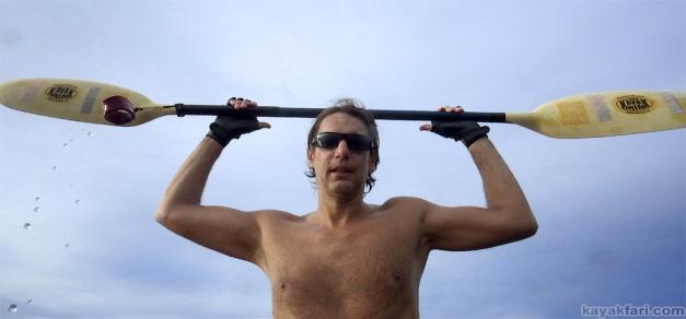 Flex Maslan kayakfari Florida Kayak paddle surfski rasta irie tropical beach fall life dania ft lauderdale