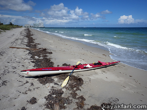 Flex Maslan kayakfari Florida Kayak paddle surfski rasta irie tropical beach fall life dania ft lauderdale