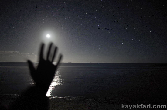 kayakfari supermoon perigee-syzygy florida bay kayak everglades rabbit key 2016 sun spots photography