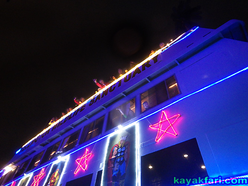 Flex Maslan Kayak Winterfest Boat Parade Christmas lights LED kayakfari Ft Lauderdale Holidays paddle photography 2016