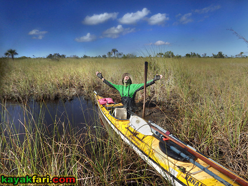 Flex Maslan kayakfari lost portage canepatch lonesome everglades kayak canoe shark river slough camp backcountry paddle wilderness mangrove experimental