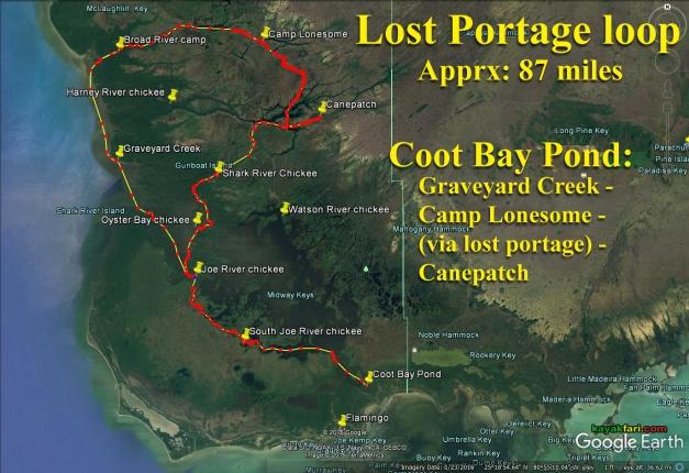 Flex Maslan kayakfari lost portage canepatch lonesome everglades kayak canoe shark river slough camp backcountry paddle wilderness mangrove satellite