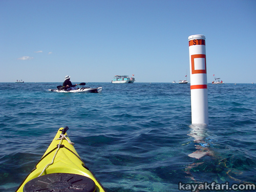 Flex Maslan kayak Jesus Christ statue Reef kayakfari key largo dry rocks paddle keys dive snorkel abyss Pennekamp rtm disco