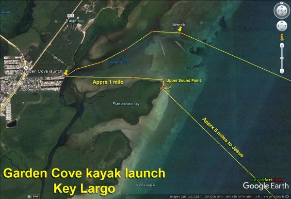 Flex Maslan kayak Jesus Christ statue Reef kayakfari key largo dry rocks paddle keys dive snorkel abyss Pennekamp satellite