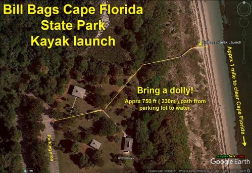 Flex Maslan Kayak Miami photography kayakfari fowey rocks lighthouse Soldier Key Cape Florida paddle biscayne sombrero satellite