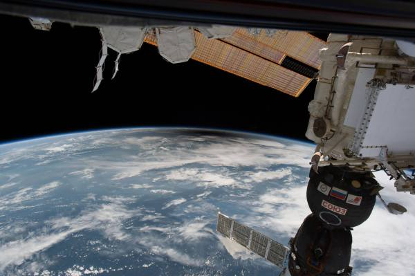 ISS Views 2017 Solar Eclipse