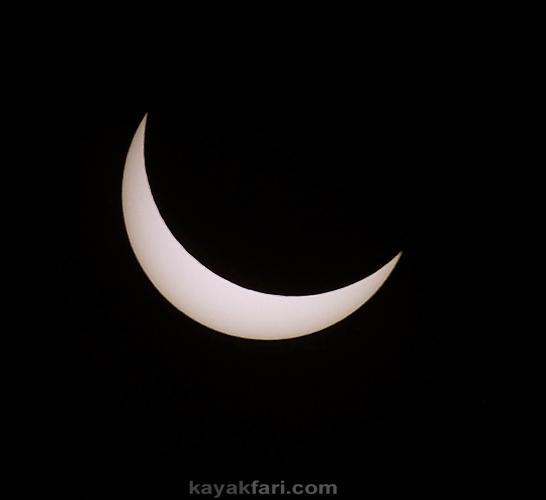 Flex Maslan kayakfari eclipse solar everglades photography sun moon pentax florida everglades kayak miami