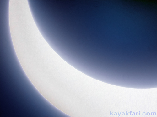 Flex Maslan kayakfari eclipse solar everglades photography sun moon pentax florida everglades kayak miami