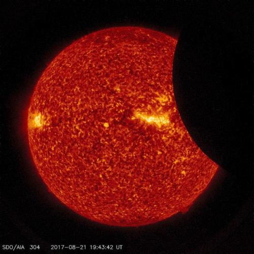 SDO Views 2017 Solar Eclipse