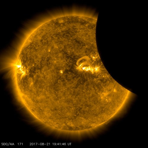 SDO Views 2017 Solar Eclipse
