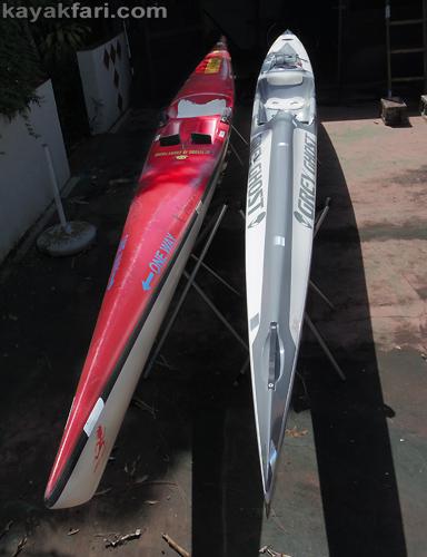 Flex Maslan kayakfari stellar ses findeisen shearwater surfski fish form swede form kayak paddle miami comparison review
