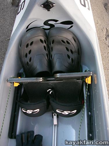 Flex Maslan kayakfari stellar surfski ses multisport kayak grey ghost miami biscayne vkoc paddle