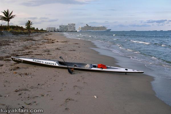 flex maslan kayakfari Whiskey Creek Dania Irma hurricane kayak beach conch damage impact erosion storm surge