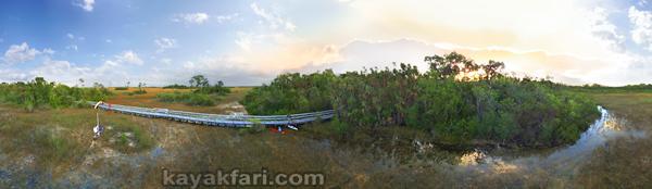 flex maslan kayakfari everglades mahogany hammock lane bay kayak canoe paddle pahayokee off-trail mangrove grass aerial