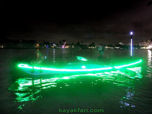 Flex Maslan Kayak Winterfest Boat Parade Christmas lights LED kayakfari Ft Lauderdale Holidays paddle photography 2017