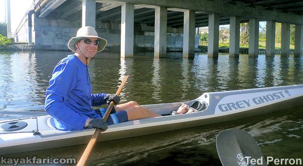 Flex Maslan kayakfari stellar surfski ses multisport kayak grey ghost miami biscayne vkoc paddle ted perron spiritwalker