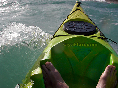 flex maslan surf zone kayak dania kayakfari beach paddle waves ft lauderdale rtm disco John Lloyd Mizell-Johnson park