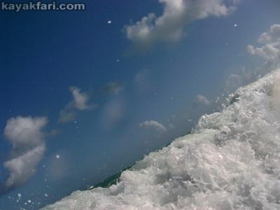 flex maslan surf zone kayak dania kayakfari beach paddle waves ft lauderdale rtm disco John Lloyd Mizell-Johnson park