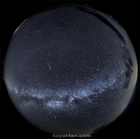flex maslan everglades kayakfari photography milky way stars galaxy night dark sky fisheye backbone florida bay camp