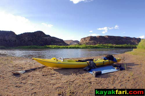 Flex Maslan Cochiti Abiquiu Lake kayakfari paddle kayak riparian spring photography New Mexico rio grande art