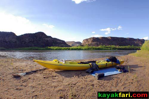 Flex Maslan Cochiti Abiquiu Lake kayakfari paddle kayak riparian spring photography New Mexico rio grande art
