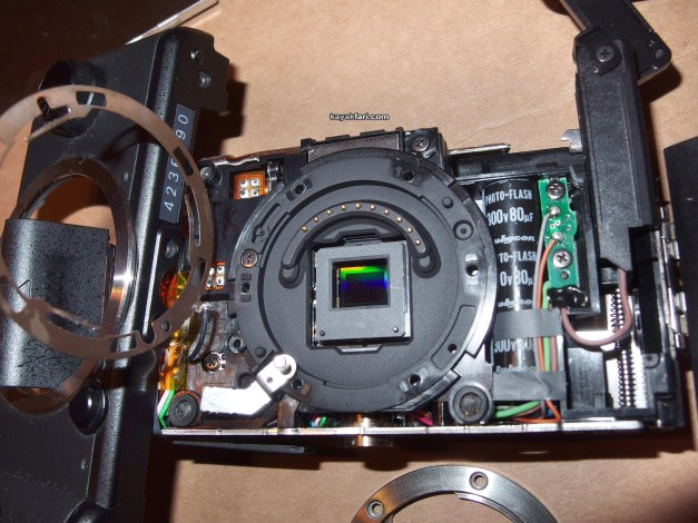 flex maslan kayakfari pentax q disassembly repair photo tech teardown lcd camera ilc replace