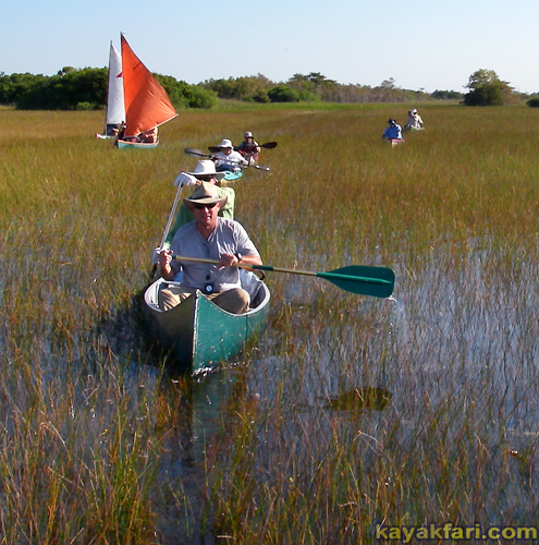 flex maslan kayakfari Taylor Slough everglades kayak canoe grass paddle keith wasserman gladesmen explorer