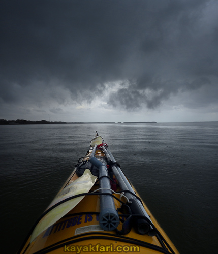 flex maslan kayakfari paddling rain sea kayak everglades photography song florida singing storm wet fun