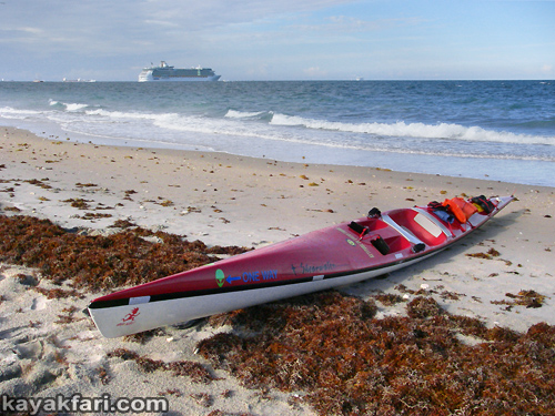flex maslan kayakfari surfski findeisen shearwater resurrection repair stringer foam surgery florida